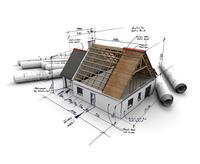 Hausplanung symbolische Darstellung