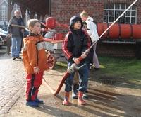 Feuerwehrmuseum Historische Löschmethoden