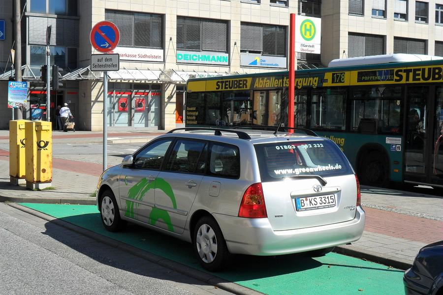Car-Sharing neu