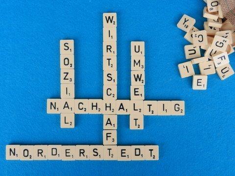 Scrabble Nachhaltig