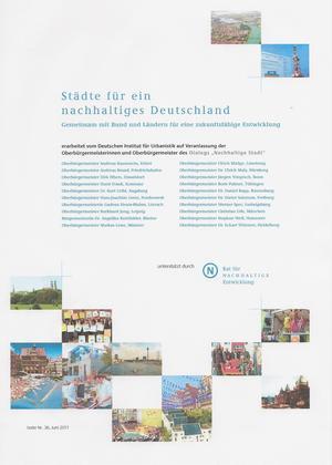Bild Städte für ein nachhaltiges Deutschland