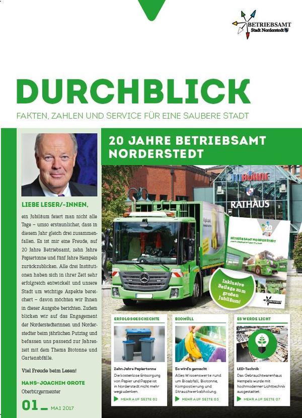 Kundenzeitung Durcblick