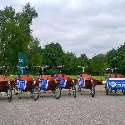 Transportrad-Flotte