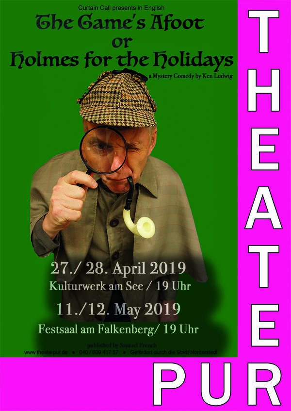 Interner Link: Zur Veranstaltung The Game's Afoot or Holmes for the Holidays